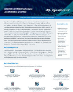 Want to learn more about Data Platform Modernization and Cloud Migration Workshop